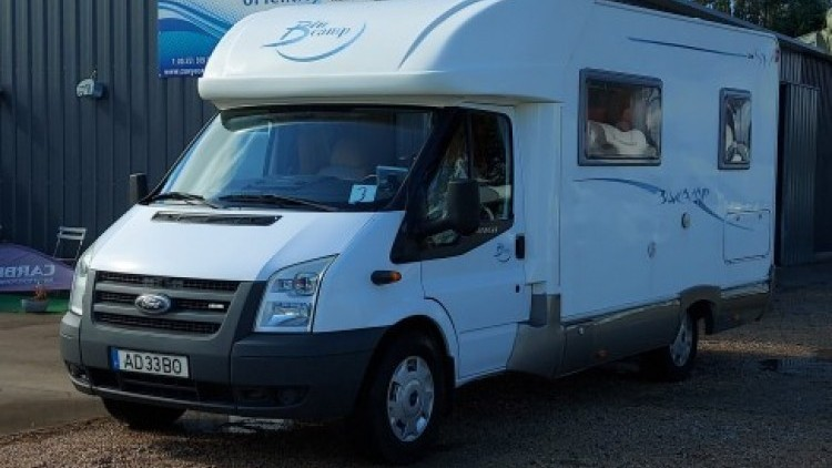 Ford Transit RIMOR BLUE CAMP
