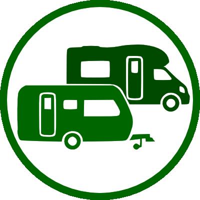 Stock de caravanas e autocaravanas